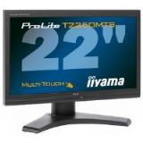 Iiyama ProLite T2250MTS 22 inch Multi-Touch TFT LCD Monitor 1080p 1000:1 260cd/m2 1920 x 1080 5ms D-